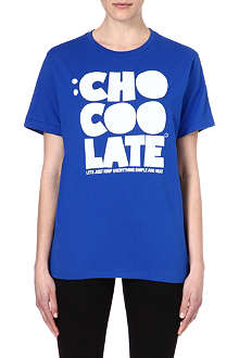 CHOCOOLATE Printed logo t-shirt