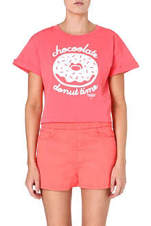 CHOCOOLATE Cropped donut tee