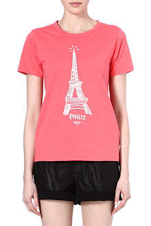 CHOCOOLATE I.T Eiffel Tower t-shirt