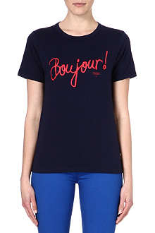 CHOCOOLATE Printed boujour t-shirt