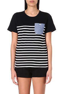 CHOCOOLATE Striped t-shirt