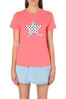 CHOCOOLATE I.T Polka-dot cotton t-shirt