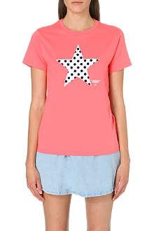 CHOCOOLATE I.T Polka-dot cotton t-shirt