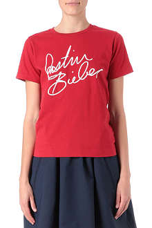 CHOCOOLATE I.T Justin Bieber signature t-shirt