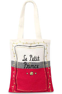 B+AB I.T Le Petit Prince embroidered tote bag