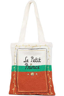 B+AB I.T Le Petit Prince embroidered knitted bag