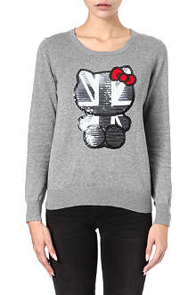 B+AB I.T Hello Kitty knitted jumper