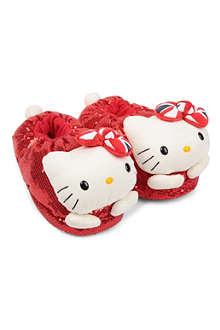 B+AB I.T Hello Kitty plush slippers