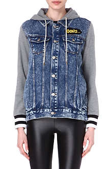B+AB I.T denim hooded jacket