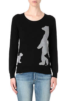 B+AB I.T Bear knitted jumper