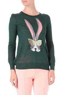 B+AB I.T Rabbit knitted jumper