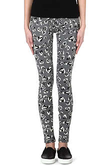 B+AB I.T Leopard Hearts leggings