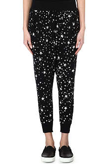 B+AB I.T star-print jogging bottoms