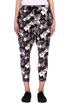 B+AB I.T camo print cotton jogging bottoms