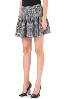 B+AB I.T pleated tweed skirt