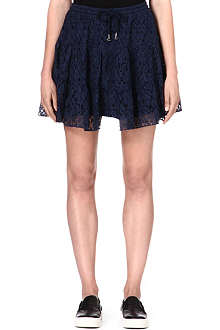 B+AB I.T printed lace skirt
