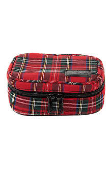CHOCOOLATE I.T Tartan wash bag