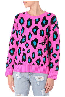 FINGERCROXX I.T animal-print jumper
