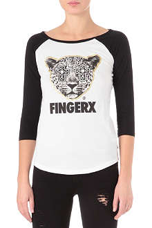 FINGERCROXX I.T animal logo t-shirt