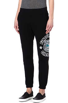 FINGERCROXX I.T Cheshire cat jogging bottoms