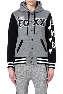 FINGERCROXX I.T. printed hooded jacket