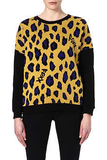 FINGERCROXX I.T animal print sweatshirt