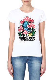 FINGERCROXX I.T caterpillar t-shirt
