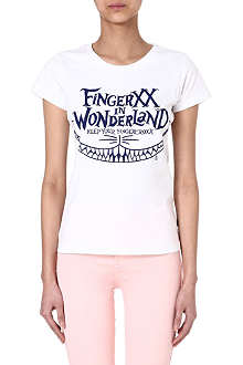 FINGERCROXX I.T Wonderland printed t-shirt