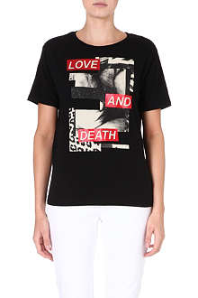 IZZUE I.T. Love and Death t-shirt