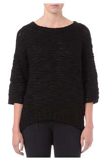 IZZUE I.T knitted wool-blend jumper