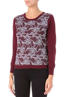 IZZUE I.T lace-panel jumper