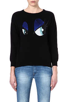 IZZUE I.T cartoon eyes jumper