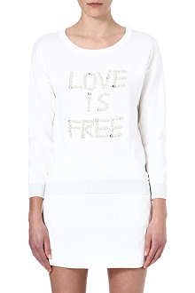 IZZUE I.T Love is free sweatshirt
