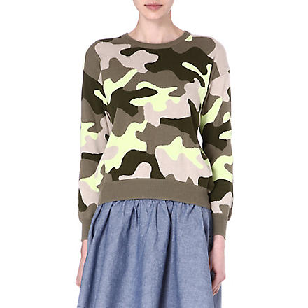 IZZUE I.T knitted camouflage jumper (Camoflage