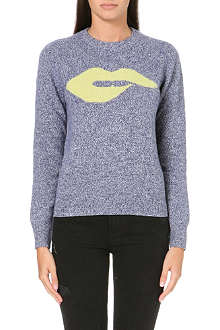 IZZUE I.T. Lips wool-blend jumper