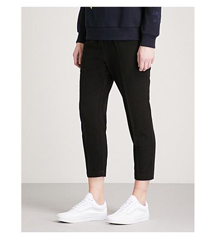 IZZUE Skinny-fit woven trousers (Black/bkx