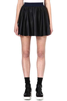 IZZUE I.T Faux-leather mini skirt