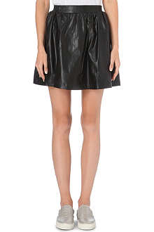 IZZUE I.T. faux-leather skirt