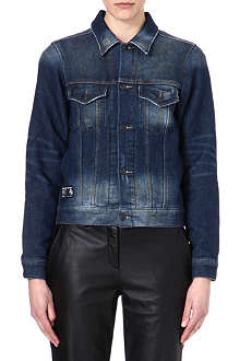 IZZUE I.T Washed denim jacket