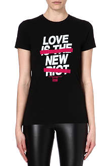 IZZUE I.T Love is the New Riot t-shirt
