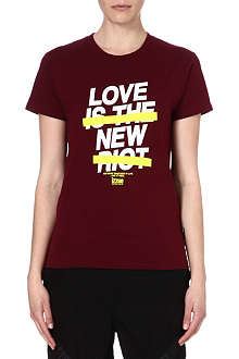 IZZUE I.T. Love is the New Riot t-shirt