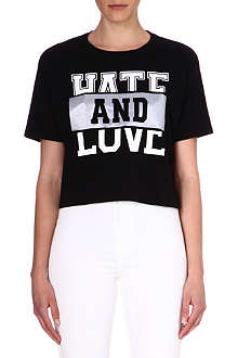 IZZUE I.T Hate and Love t-shirt