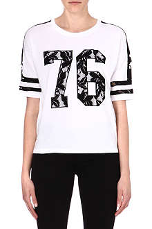 IZZUE I.T Varsity lace-insert t-shirt