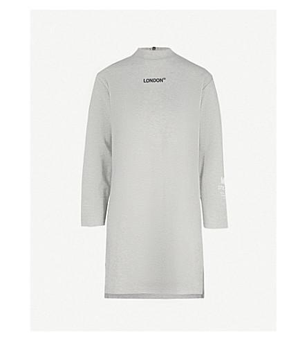 MUSIUM London cotton-blend top (Grey