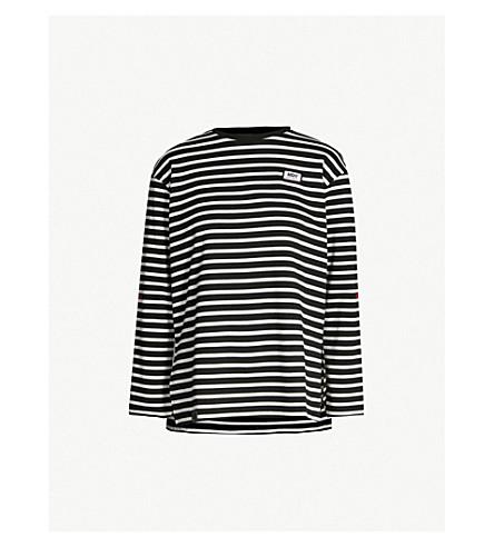 MUSIUM Inhale Exhale striped cotton-jersey top (Stripe