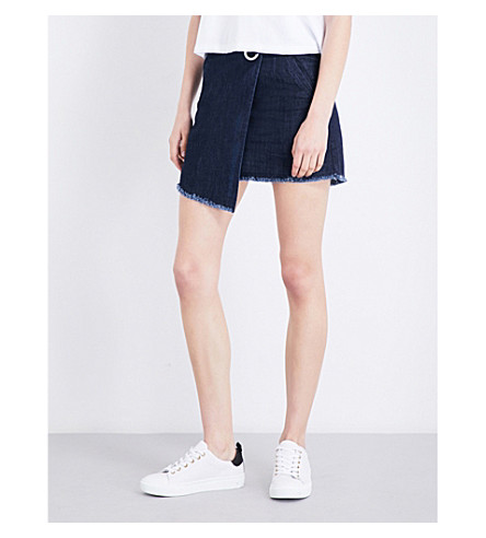 MUSIUM Asymmetric denim skirt (Nyx