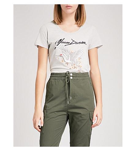 MUSIUM Logo-print cotton T-shirt (Grey