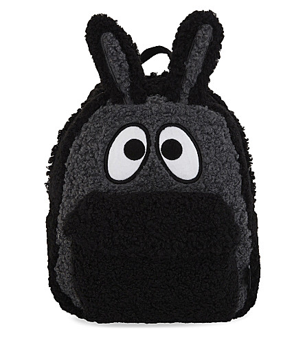MINI CREAM Bunny-ears backpack (Bkx