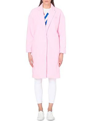 MINI CREAM I.T fleece coat