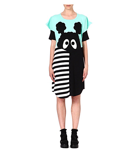 MINI CREAM I.T Big Cheese jersey dress (Turquoise